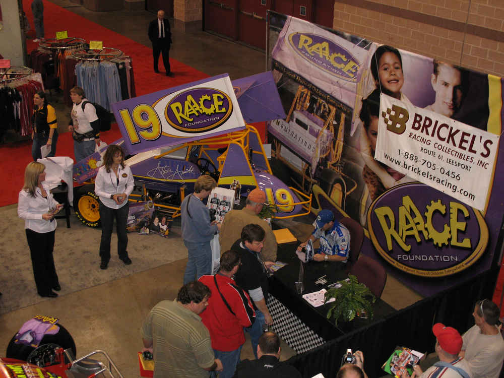 Atlantic City Motorsports Show 2007 with Ron Capps